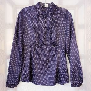 New J.Crew 100% silk blouse, size 4
